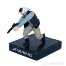 Figuras y Muñecos Star Wars: STAR WARS MINIATURES REBEL TROOPER DESCATALOGADO. Lote 169192472