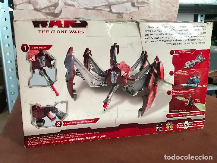 Figuras y Muñecos Star Wars: Star Wars The Clone Wars Crab Droid - Foto 2 - 169265260