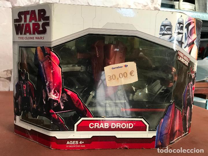 STAR WARS THE CLONE WARS CRAB DROID (Juguetes - Figuras de Acción - Star Wars)
