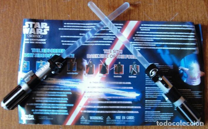 STAR WARS SCIENCE MINI LIGHTSABER - UNCLE MILTON - LUCASFILM 2016 - (Juguetes - Figuras de Acción - Star Wars)