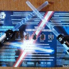 Figuras y Muñecos Star Wars: STAR WARS SCIENCE MINI LIGHTSABER - UNCLE MILTON - LUCASFILM 2016 -. Lote 169427748