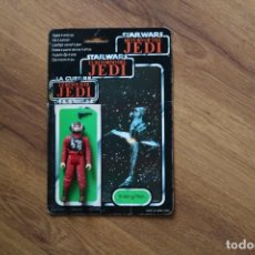 Figuras y Muñecos Star Wars: FIGURA B-WING PILOT PILOTO LFL 1984 STAR WARS KENNER VINTAGE COMPLETA CARTÓN ORIGINAL TRILOGO. Lote 169575856