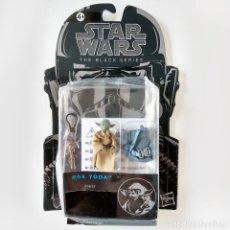 Figuras y Muñecos Star Wars: STAR WARS BLACK SERIES #06, 5 CM - YODA, NUEVO A ESTRENAR (CAJA MUY DETERIORADA). Lote 169600552