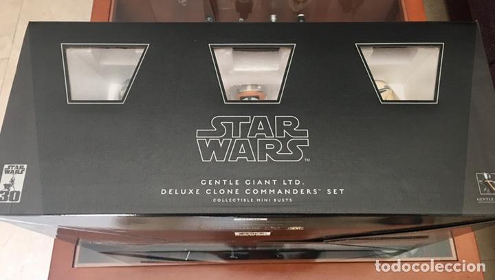 STAR WARS DELUXE 5 CLONE COMMANDERS SET GENTLE GIANT (Juguetes - Figuras de Acción - Star Wars)