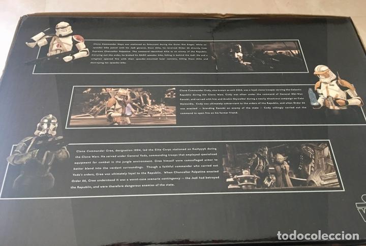 Figuras y Muñecos Star Wars: STAR WARS deluxe 5 Clone Commanders set Gentle Giant - Foto 4 - 169879345
