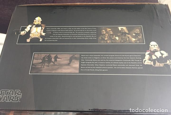 Figuras y Muñecos Star Wars: STAR WARS deluxe 5 Clone Commanders set Gentle Giant - Foto 5 - 169879345