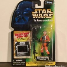 Figuras y Muñecos Star Wars: FIGURA BIGGS DARKLIGHTER - STAR WARS - POWER OF THE FORCE - KENNER VINTAGE. Lote 169915673