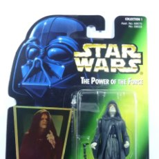 Figuras y Muñecos Star Wars: FIGURA EMPERADOR PALPATINE - STAR WARS - POWER OF THE FORCE- KENNER VINTAGE. Lote 169916424