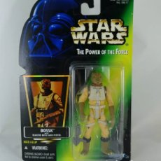 Figuras y Muñecos Star Wars: FIGURA BOSSK CAZARECOMPENSAS - STAR WARS - POWER OF THE FORCE - KENNER VINTAGE. Lote 169916552