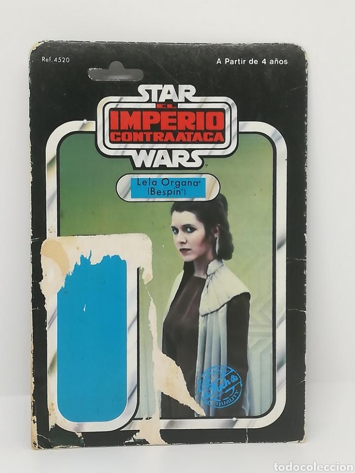 STAR WARS LEIA BESPIN IMPERIO CONTRAATACA PBP POCH CARTON (Juguetes - Figuras de Acción - Star Wars)