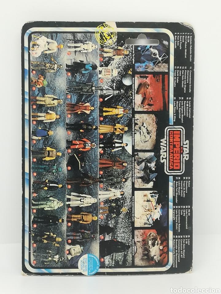 Figuras y Muñecos Star Wars: STAR WARS LEIA BESPIN IMPERIO CONTRAATACA PBP POCH CARTON - Foto 2 - 170011985