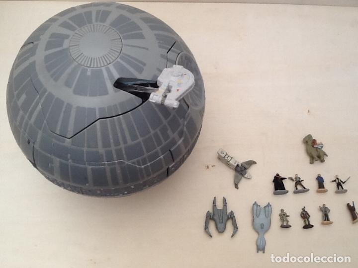 Figuras y Muñecos Star Wars: Star wars estrella de la muerte micromachines - Foto 21 - 171007679