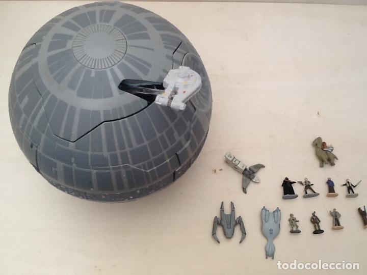 Figuras y Muñecos Star Wars: Star wars estrella de la muerte micromachines - Foto 22 - 171007679