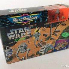 Figuras y Muñecos Star Wars: STAR WARS MICROMACHINES - ENDOR ATTACK - NUEVO - GALOOB - AÑOS 90. Lote 169312336