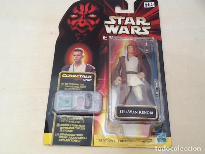 Figuras y Muñecos Star Wars: Star wars hasbro Obi Wan Kenobi - Foto 7 - 171013765