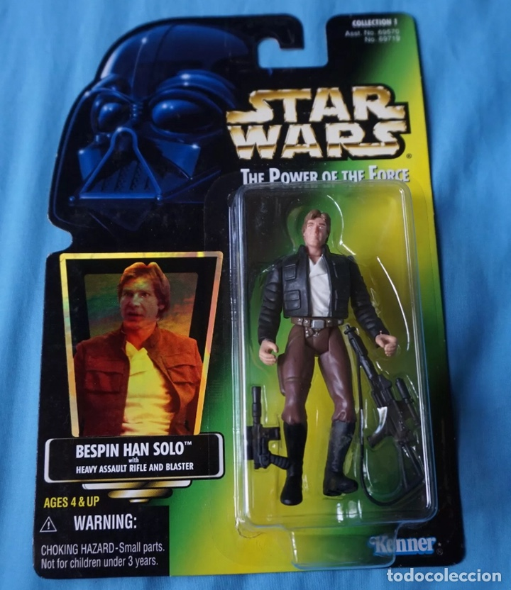FIGURA HAN SOLO - STAR WARS - POWER OF THE FORCE - KENNER VINTAGE (Juguetes - Figuras de Acción - Star Wars)