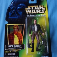 Figuras y Muñecos Star Wars: FIGURA HAN SOLO - STAR WARS - POWER OF THE FORCE - KENNER VINTAGE. Lote 171113368