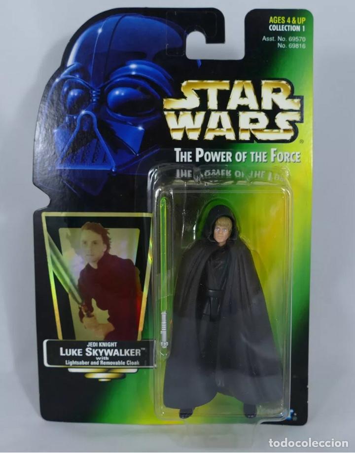 FIGURA LUKE SKYWALKER - STAR WARS POWER OF THE FORCE - KENNER VINTAGE (Juguetes - Figuras de Acción - Star Wars)