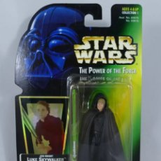 Figuras y Muñecos Star Wars: FIGURA LUKE SKYWALKER - STAR WARS POWER OF THE FORCE - KENNER VINTAGE. Lote 171113392