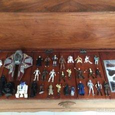 Figuras y Muñecos Star Wars: STAR WARS - FIGURAS, IMANES, NAVE, PEZ. Lote 171172928