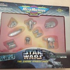 Figuras y Muñecos Star Wars: SET MICROMACHINES STAR WARS - LIMITED EDITION - VEHÍCULOS METÁLICOS - GALOOB - AÑOS 90 - VINTAGE. Lote 171269925