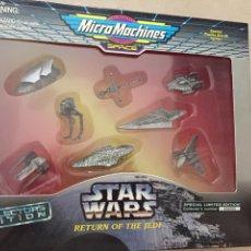 Figuras y Muñecos Star Wars: SET MICROMACHINES STAR WARS - LIMITED EDITION - VEHÍCULOS METÁLICOS- GALOOB - VINTAGE. Lote 171270034