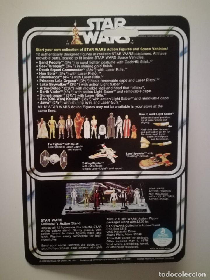 Figuras y Muñecos Star Wars: Blister Darth Vader Star Wars Kenner - Foto 2 - 171371147