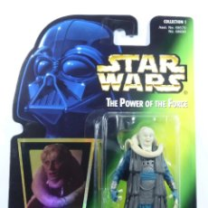 Figuras y Muñecos Star Wars: FIGURA BIB FORTUNA - STAR WARS - POWER OF THE FORCE - KENNER VINTAGE. Lote 171548924