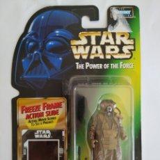 Figuras y Muñecos Star Wars: STAR WARS ZUCKUSS THE POWER OF THE FORCE KENNER BLISTER NUEVO SIN ABRIR. Lote 171809069