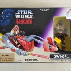 Figuras y Muñecos Star Wars: STAR WARS SWOOP SHADOW OF THE EMPIRE KENNER NUEVO SIN ABRIR. Lote 172084878