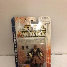 Figuras y Muñecos Star Wars: STAR WARS-MACE WINDU-CLONE WARS/HASBRO 2003. Lote 172411435