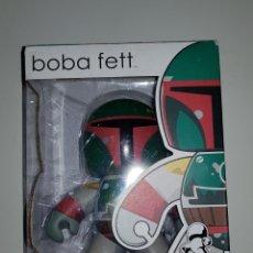 Figuras y Muñecos Star Wars: STAR WARS FIGURA DE BOBA FETT DE MIGHTY MUGGS DE 2008. Lote 172426984