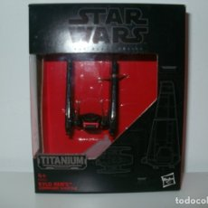 Figuras y Muñecos Star Wars: STAR WARS THE BLACK SERIES TITANIUM SERIES KILO REN'S COMMAND SHUTTLE HASBRO. Lote 172690850