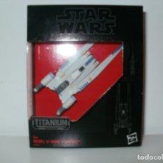 Figuras y Muñecos Star Wars: STAR WARS THE BLACK SERIES TITANIUM SERIES REBEL U-WING FIGHTER HASBRO. Lote 172691132