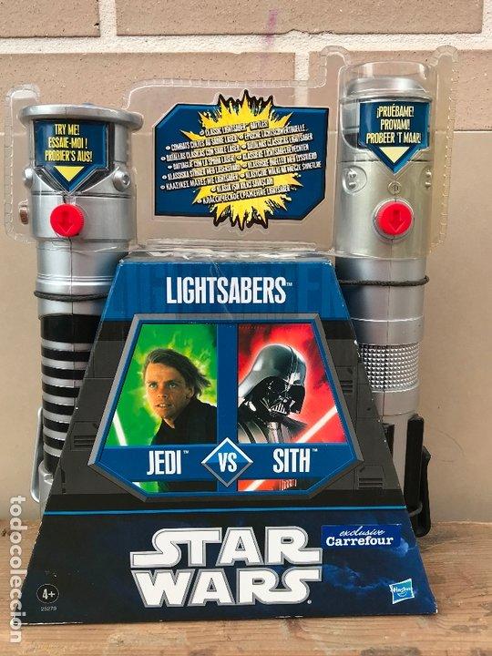 LIGHTSABERS STAR WARS CARREFOUR EXCLUSIVO (Juguetes - Figuras de Acción - Star Wars)