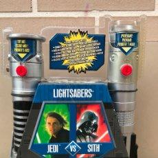 Figuras y Muñecos Star Wars: LIGHTSABERS STAR WARS CARREFOUR EXCLUSIVO . Lote 172701220