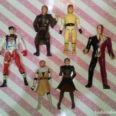 Figuras y Muñecos Star Wars: LOTE DE 6 FIGURAS CON DEFECTOS, STAR WARS, DC, G.I.JOE-STREET FIGHTER, PARA PIEZAS O REPARAR. Lote 172724704