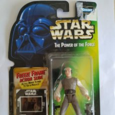 Figuras y Muñecos Star Wars: STAR WARS LOBOT THE POWER OF THE FORCE KENNER BLISTER NUEVO SIN ABRIR. Lote 172839668