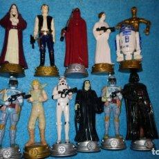 Figuras y Muñecos Star Wars: LOTE DE FIGURAS DE STAR WARS DE AJEDREZ. Lote 172918702