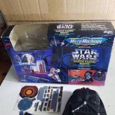 Figuras y Muñecos Star Wars: STAR WARS LA GUERRA DE LAS GALAXIAS MICROMACHINES MICRO MACHINES DARTH VADER BESPIN BUSTO. Lote 172982775