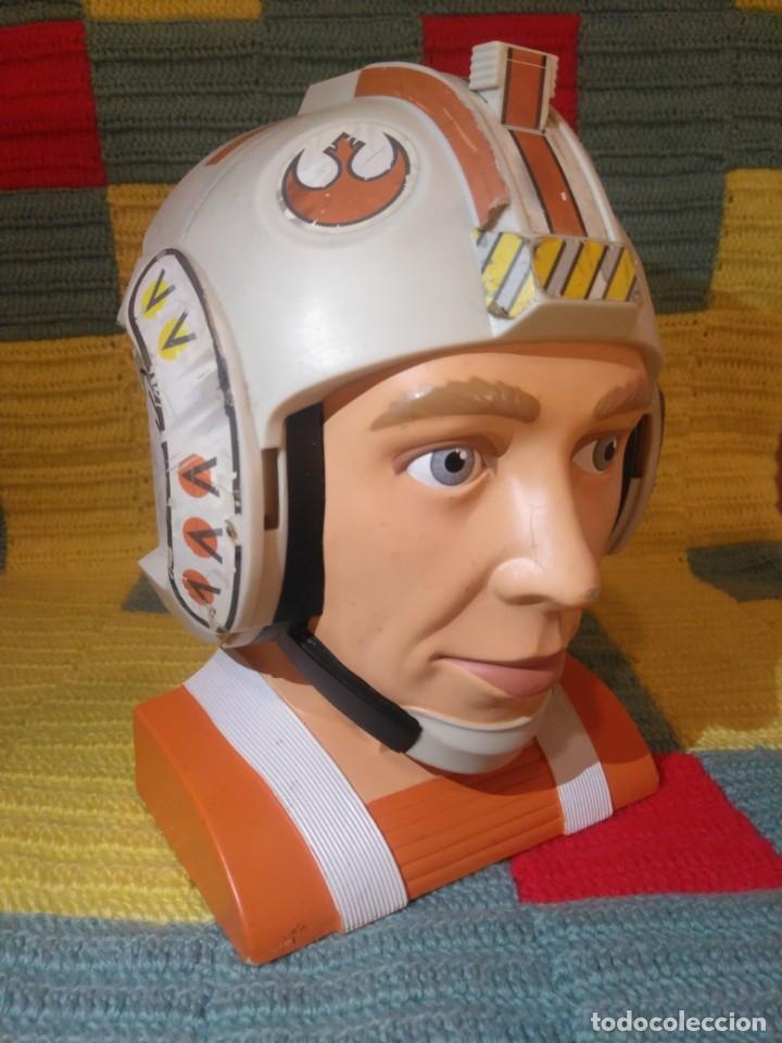 Figuras y Muñecos Star Wars: Difícil busto de Star Wars,La Guerra de las Galaxias,Lewis Galoob Toys,1996 - Foto 2 - 173034369