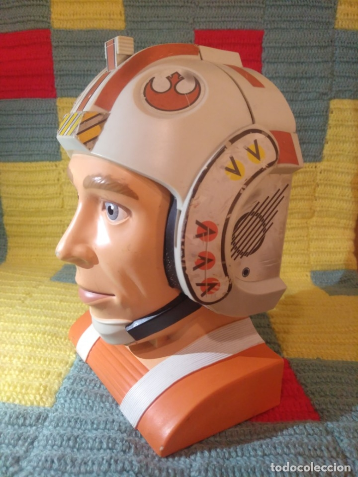 Figuras y Muñecos Star Wars: Difícil busto de Star Wars,La Guerra de las Galaxias,Lewis Galoob Toys,1996 - Foto 3 - 173034369