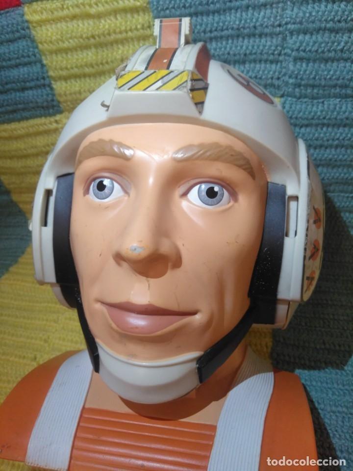 Figuras y Muñecos Star Wars: Difícil busto de Star Wars,La Guerra de las Galaxias,Lewis Galoob Toys,1996 - Foto 4 - 173034369