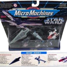 Figuras y Muñecos Star Wars: MICROMACHINES STAR WARS IX. NUEVO. Lote 173230760