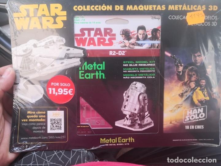 Metal Earth Star Wars R2D2 3D Kit De Modelo De Metal
