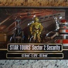 Figuras y Muñecos Star Wars: STAR WARS - SECTOR 2 SECURITY - STAR TOURS - EDICIÓN LIMITADA - HASBRO DISNEY BLACK SERIES VINTAGE. Lote 173510959