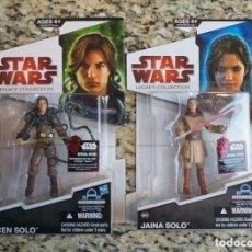 Figuras y Muñecos Star Wars: LOTE 2 FIGURAS STAR WARS - JACEN SOLO Y JAINA SOLO - LEGACY COLLECTION - KENNER VINTAGE. Lote 173661555