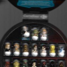 Figuras y Muñecos Star Wars: JUEGO STAR WARS ROLLINZ, COMPLETO, CARREFOUR . Lote 173802567