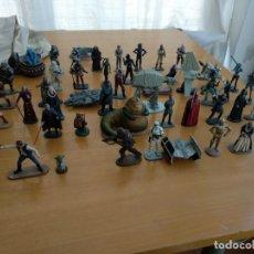 Figuras y Muñecos Star Wars: 52 FIGURAS DE PLOMO - STAR WARS - PLANETA AGOSTINI 2005 . Lote 174190328