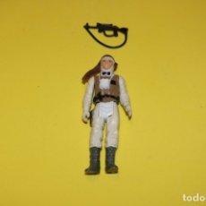 Figuras y Muñecos Star Wars: FIGURA ACCIÓN VINTAGE STAR WARS KENNER LUKE SKYWALKER HOTH COMPLETO 1980 HONG KONG LUCASFILM. Lote 174190765